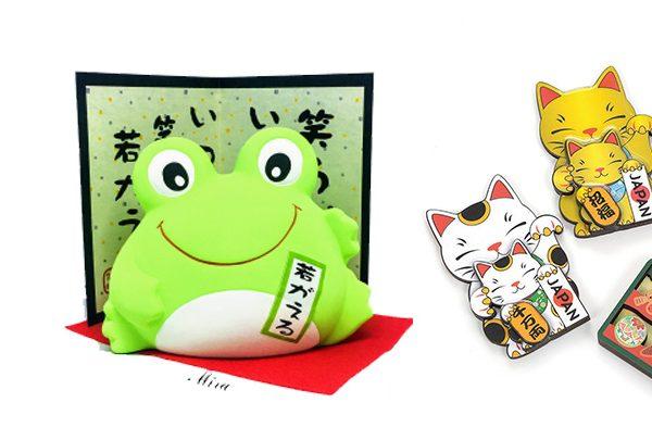 vật may mắn của Nhật