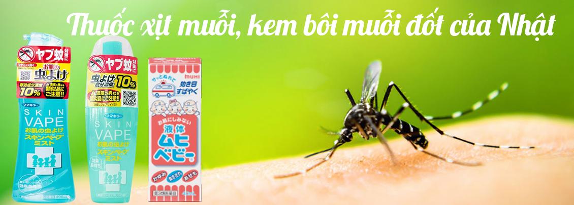 thuốc xịt muỗi của nhật