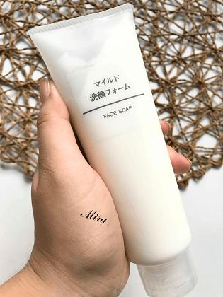 Muji face soap for sensetive skin