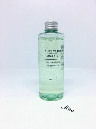 Muji Clear Care Series Light Toning Water High Moisture