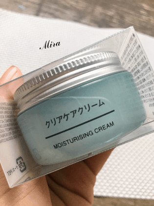 Muji Clear Care Series Moisturising Cream