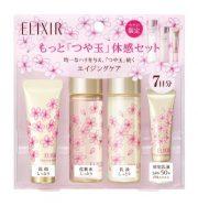Set mỹ phẩm mini dưỡng da chống lão hóa shiseido elixir trial