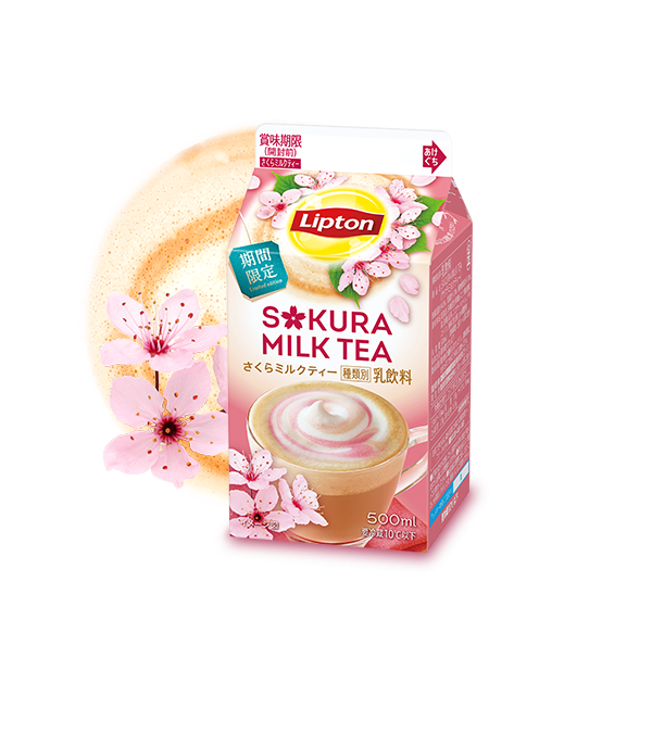 Lipton SAKURA MILK TEA