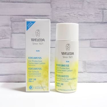 Weleda Edelweiss Uv Protection SPF38 PA ++