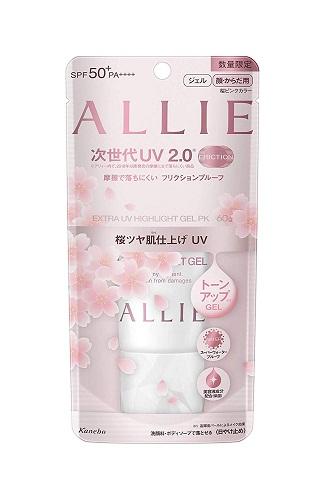 Kem chống nắng Kanebo Allie Extra Gel Sakura