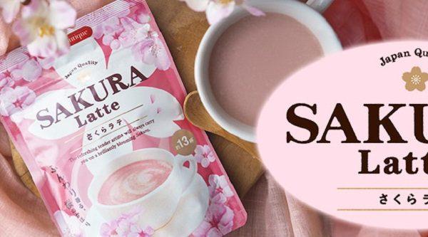 Trà sữa hoa anh đào Tea Boutique Sakura Latte