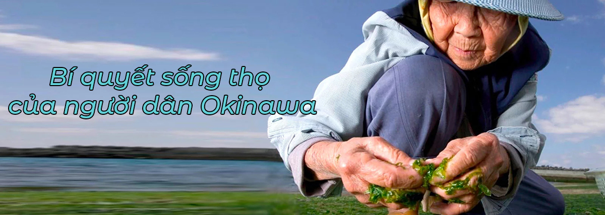 bí quyết sống thọ của người dân Okinawa nhật bản