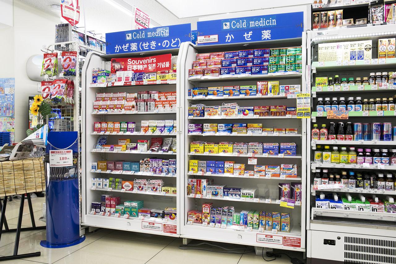 Dươc phẩm tại drug store ở Nhật đều được chứng nhận