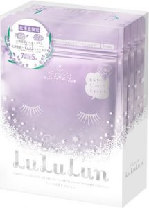 LuLuLun Lavender Moisturizing Mask Hokkaido Limited Edition