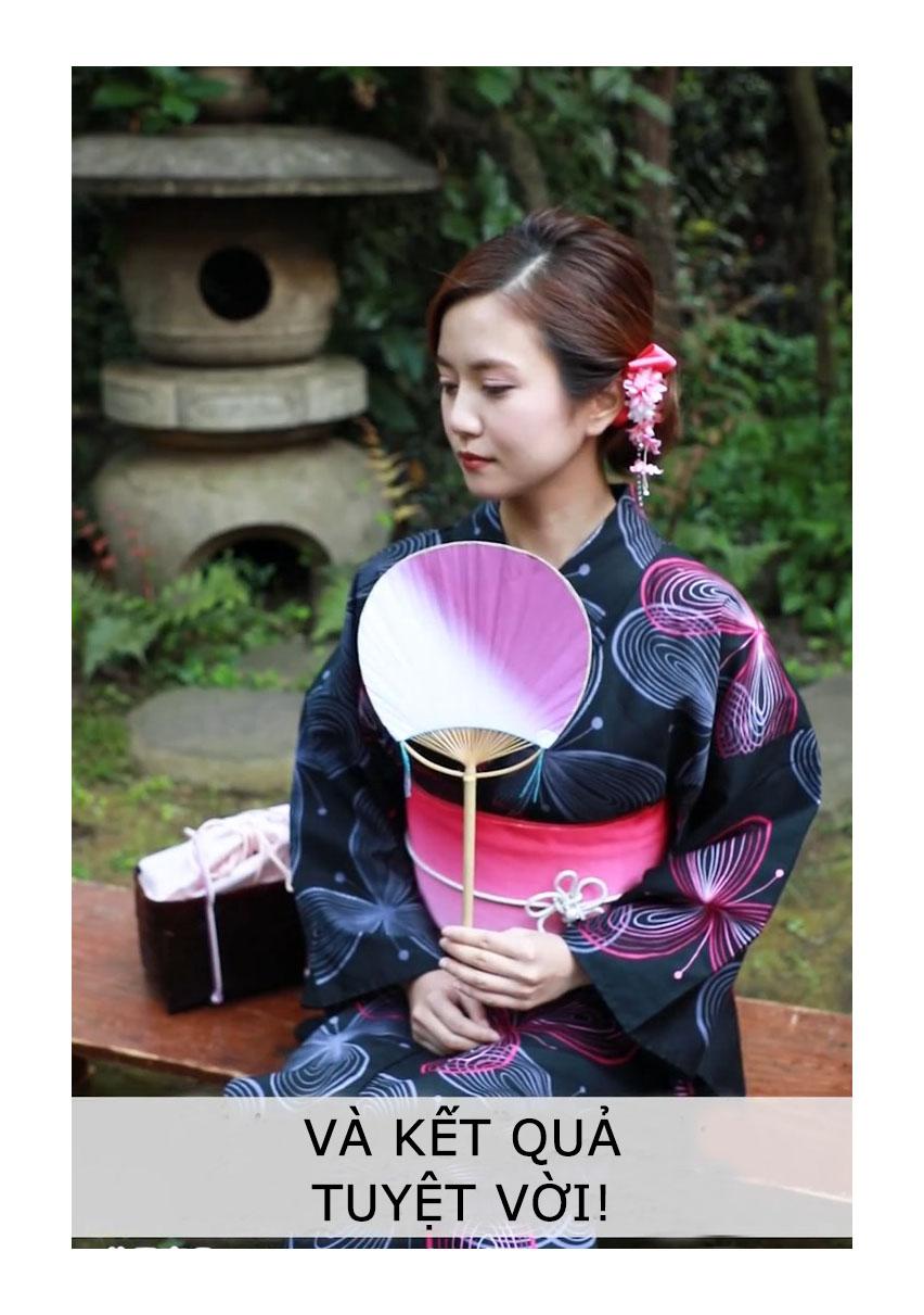 tính cách phụ nữ Nhật - ảnh chụp kết quả