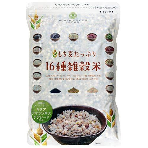 Gạo trộn 16 loại Super Foods Japan