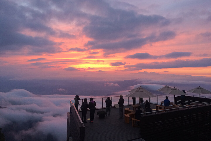Cà phê ở Nhật - quán cà phê trên mây