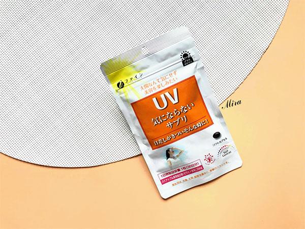 Viên uống chống nắng Fine UV Nhật Bản