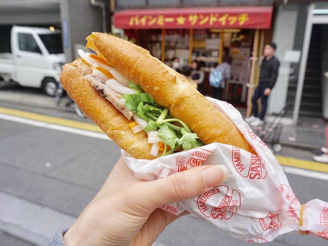 nhà hàng Việt ngon nhất Tokyo Banhmi Sandwich