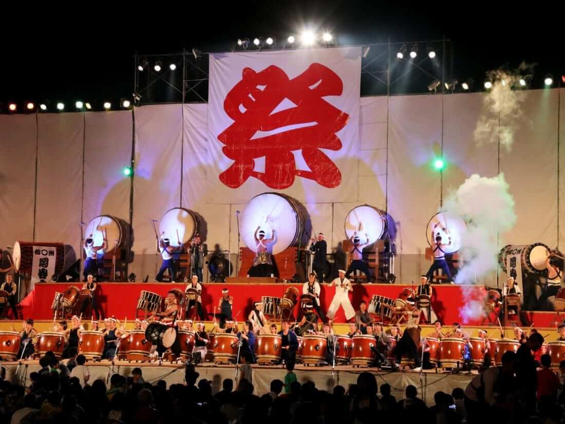 du lịch matsumoto lễ hội taiko