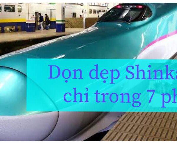 Quy trình 7 phút Shinkansen