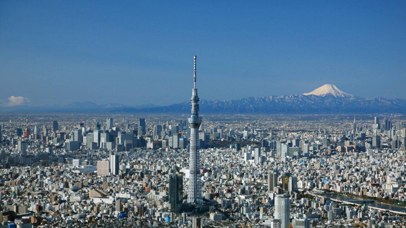 tháp tokyo skytree