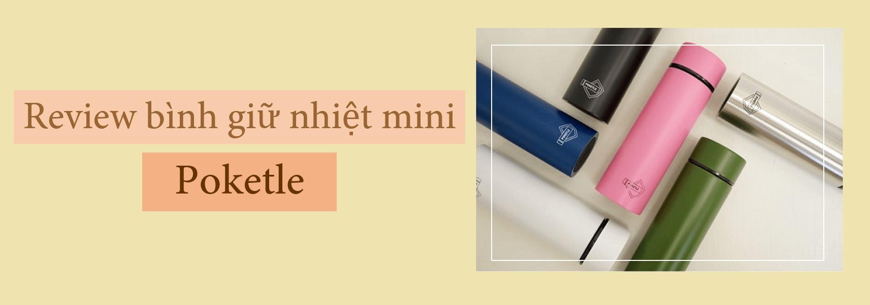 Bình giữ nhiệt mini Poketle