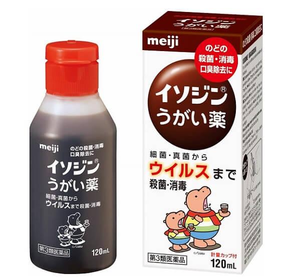 M) 2079 - Nước súc miệng diệt khuẩn cho bé và cả nhà Meiji (120ml) - Mira Chan's kitchen