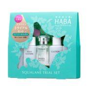 Set mini tinh dầu Haba Squalane
