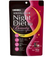 Trà giảm cân Orihiro dưỡng da ban đêm