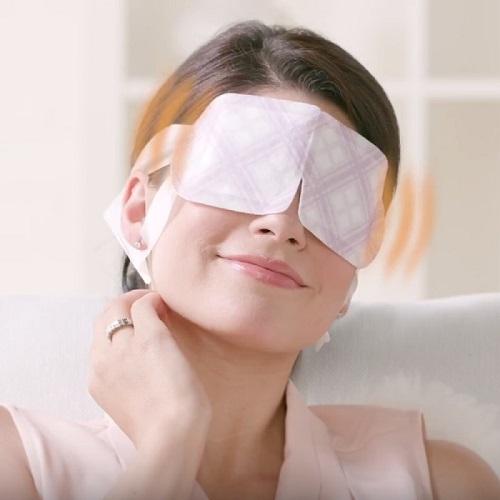 Mặt nạ thư giãn mắt MegRhythm mang lại sự thoải mái và dễ chịu