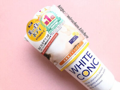 Tẩy da chết dưỡng trắng White Conc
