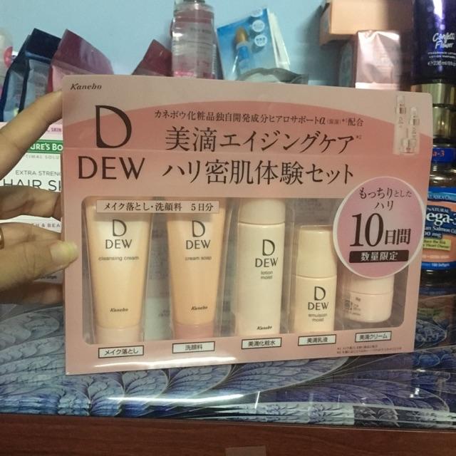 bộ mỹ phẩm mini Dew Beaute