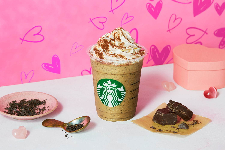 menu Starbucks ở Nhật - Choco Milk Tea