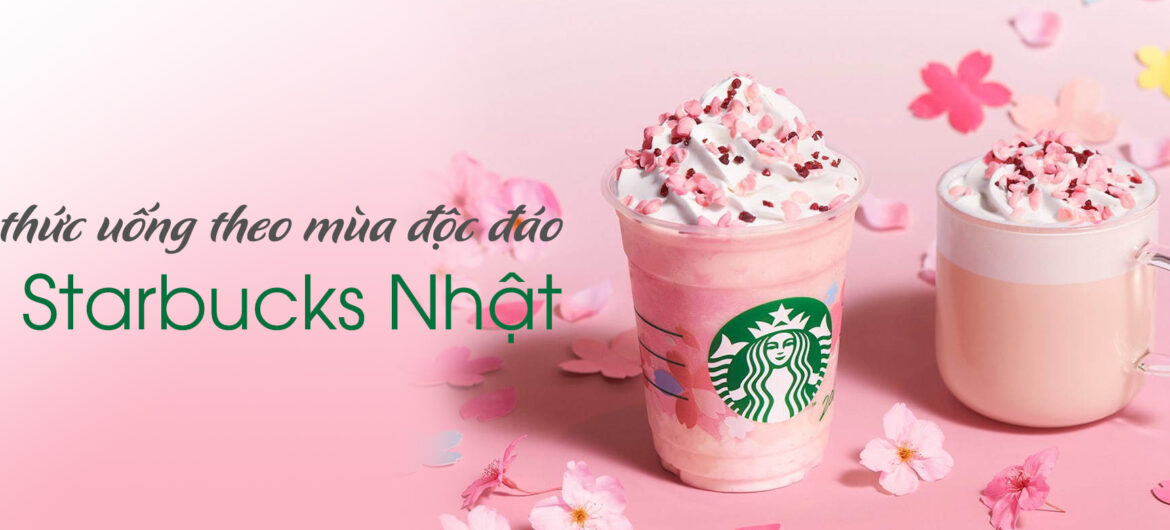 menu Starbucks ở Nhật - cover