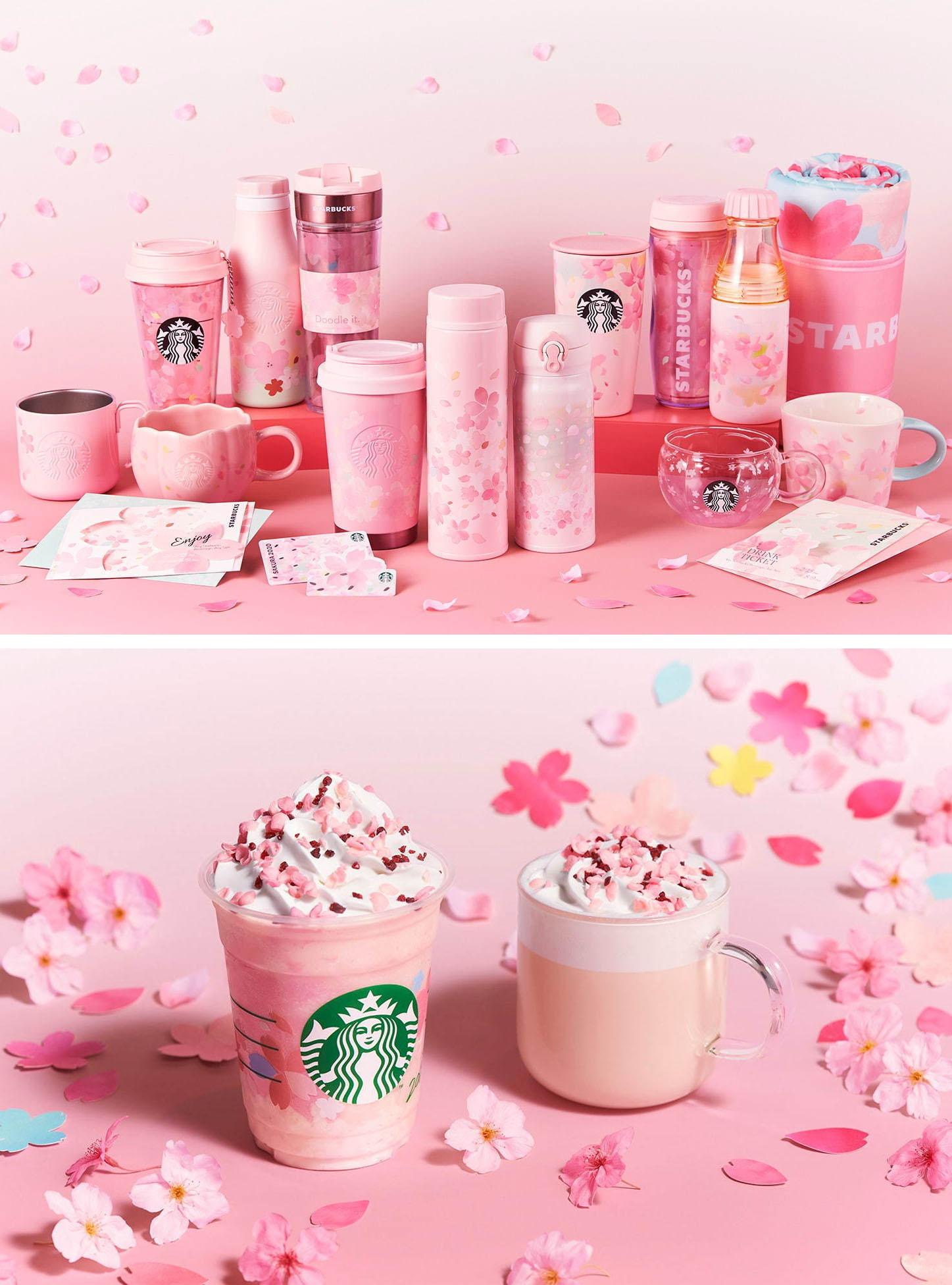 menu Starbucks ở Nhật - Sakura