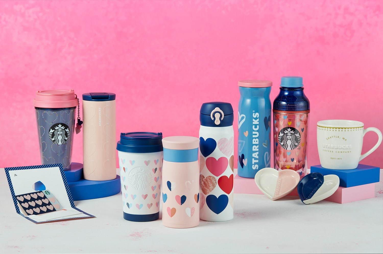 menu Starbucks ở Nhật - Valentine
