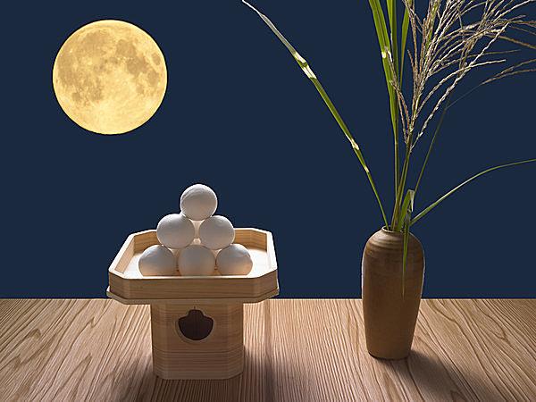 Bánh trung thu Nhật Tsukimi Dango