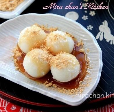 Bánh Tsukimi Dango Trung Thu Nhật Bản