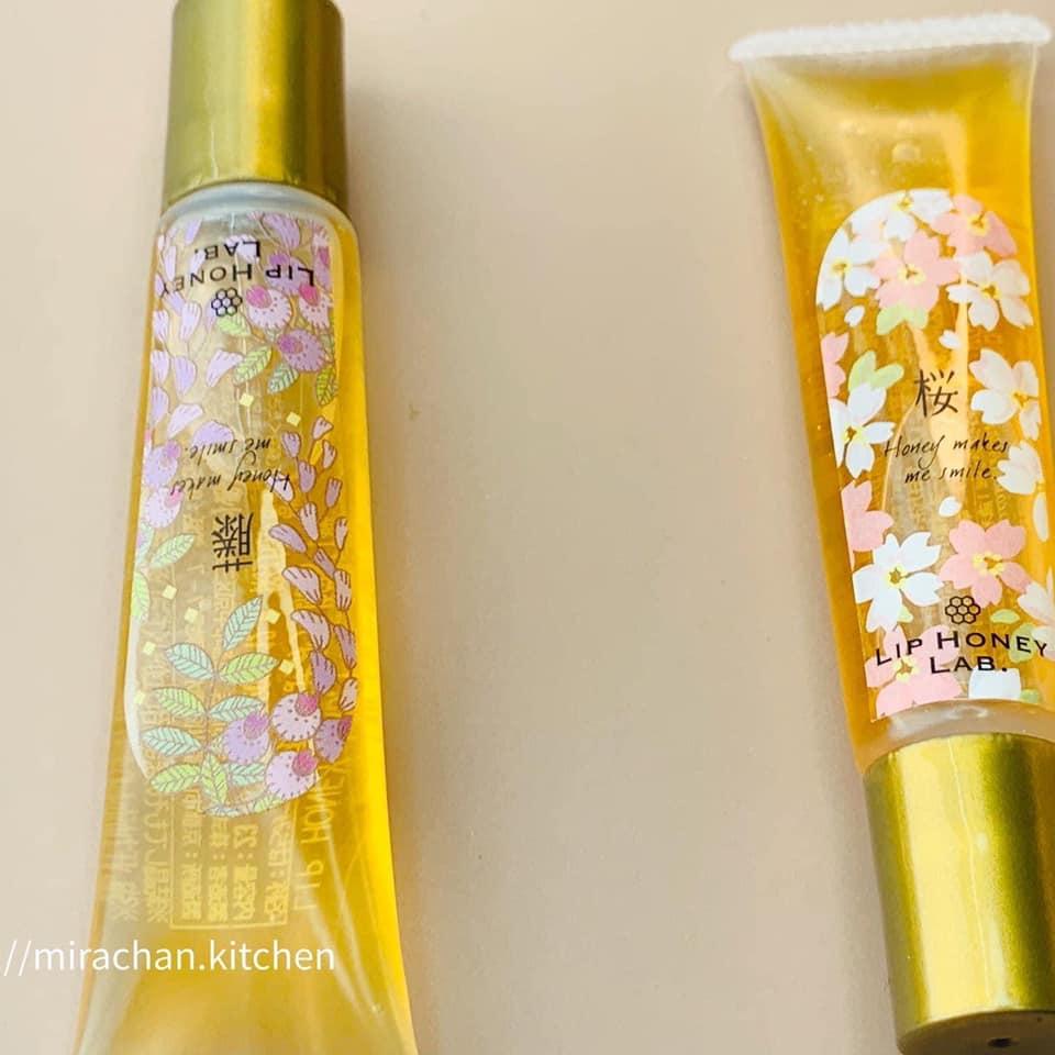 dưỡng môi mật ong Nhật Miel Mie