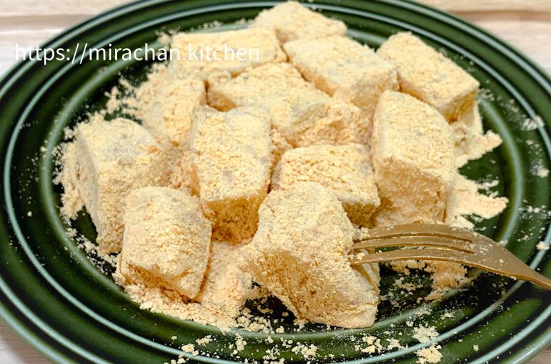 Cách làm bánh Warabi Mochi
