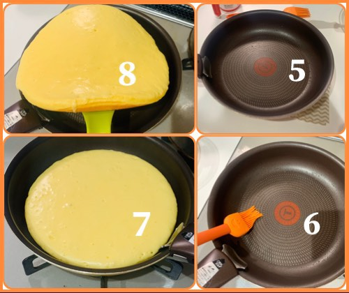 Công thức làm bánh Pancake từ bột Hotcake mix