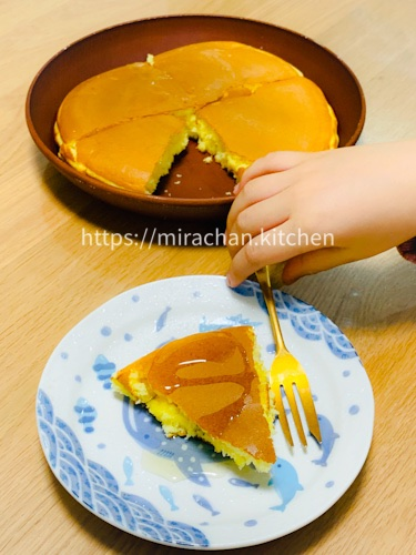 Bánh Pancake cho bé ăn dặm