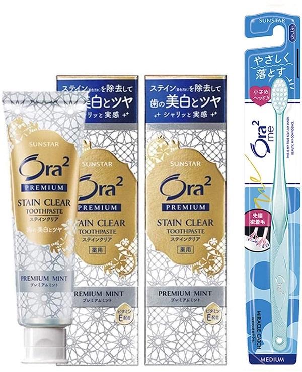 Kem đánh răng trắng răng của Nhật